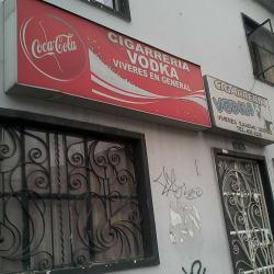 Cigarrería Vodka en Bogotá