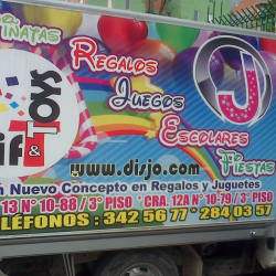 Gift y Toys en Bogotá