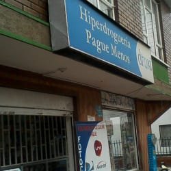 Hiperdroguería Pague Menos en Bogotá