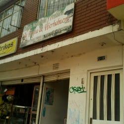 Tienda Naturista La Hojita de Hierbabuena en Bogotá