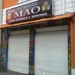 Bar Donde Mao en Bogotá
