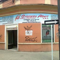 Cristales Albert S.A.S en Bogotá