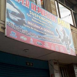 Super Repuestos Pava en Bogotá