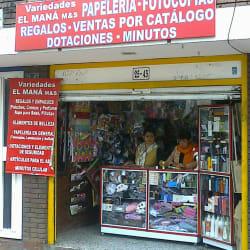 Variedades El Maná M&S en Bogotá