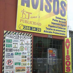 Jame's Publicidad en Bogotá