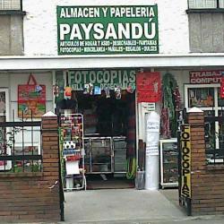 Almacén y Papelería Paysandú en Bogotá