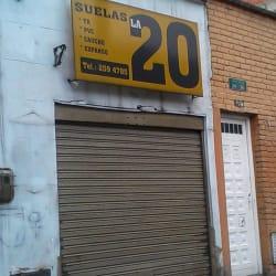 Suelas la 20 en Bogotá