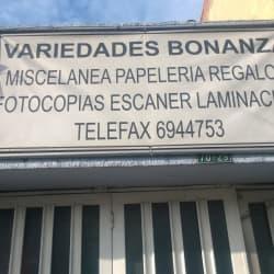 Variedades Bonanza en Bogotá