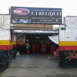 Lubricantes y Vulcanizadora La Reliquia en Bogotá