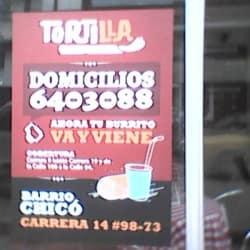 Tortilla Mexican Grill en Bogotá