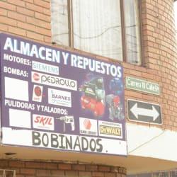 Almacén y Repuestos en Bogotá