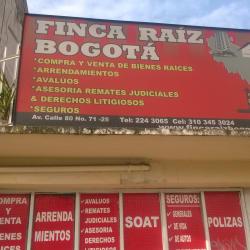 Finca Raiz Bogotá en Bogotá