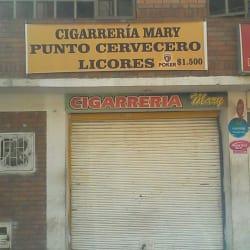 Cigarrería Mary Punto Cervecero en Bogotá