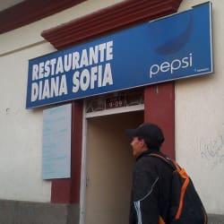 Restaurante Diana Sofía en Bogotá