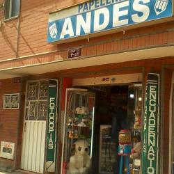 Papelería Andes en Bogotá