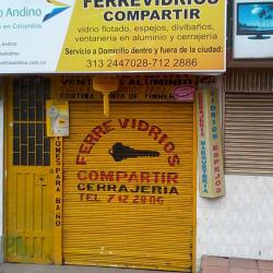 Ferrevidrios Compartir en Bogotá