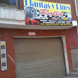 Llantas y Rines Rally en Bogotá