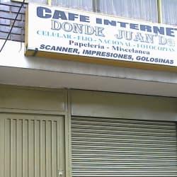 Cafe Internet Donde Juan'Da en Bogotá