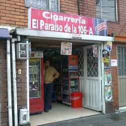 Cigarrería El Paraiso de la 106A en Bogotá