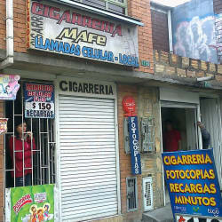 Cigarrería Mafe en Bogotá