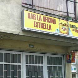 Bar la Oficina Estrella en Bogotá