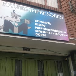 Maltes Impresores en Bogotá