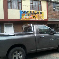 Vallas en Bogotá