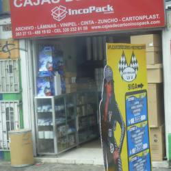 Cajas de Cartón Incopack en Bogotá