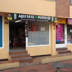 Aqui es el Punto 53 en Bogotá
