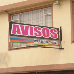 Avisos Impresión Digital Calle 17  en Bogotá