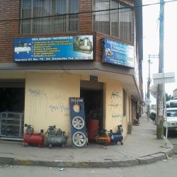 Logistica de Motores y Compresores en Bogotá