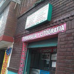 Tipografía y Litografía Carrera 81 con 77A en Bogotá