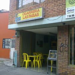 Cigarrería Los Paisas en Bogotá