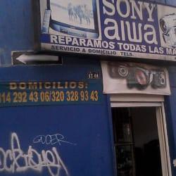 Sony Aiwa en Bogotá