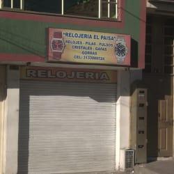 Relojería el Paisa en Bogotá