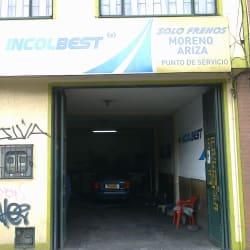 Solo Frenos Moreno Ariza en Bogotá