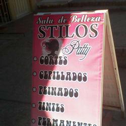 Sala de Belleza Stylos Patty en Bogotá