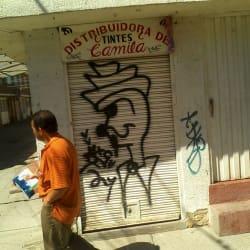 Distribuidora de Tintes Camila en Bogotá