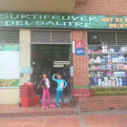 Supermercado Surtifruver del Salitre en Bogotá