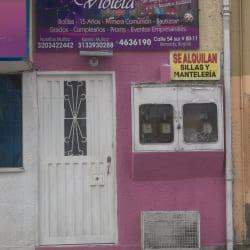 Casa De Eventos y Banquetes Violeta en Bogotá