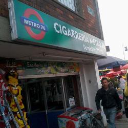 Cigarrería Metro 76 en Bogotá