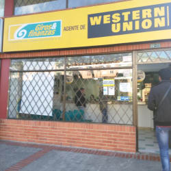 Wester Union Salitre en Bogotá