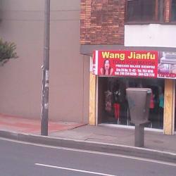 Wang Jianfu en Bogotá