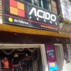 Acido Jeans Carrera 7 con 17 en Bogotá