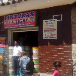 Pinturas el Tigre en Bogotá