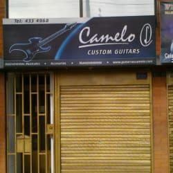 Camelo Custom Guitars en Bogotá