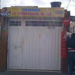 CigarrerÍa La Prosperidad de Luz en Bogotá