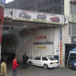 Autoservicio Hernández  en Bogotá