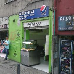 Cafetería Delivalle en Bogotá