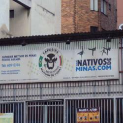 Capoeira Nativos de Minas en Bogotá